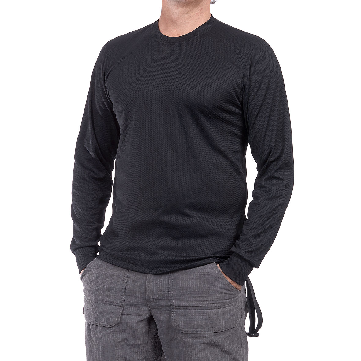 MG 8628 5CS20041010M Camiseta Thermal Negro - Camiseta Thermal