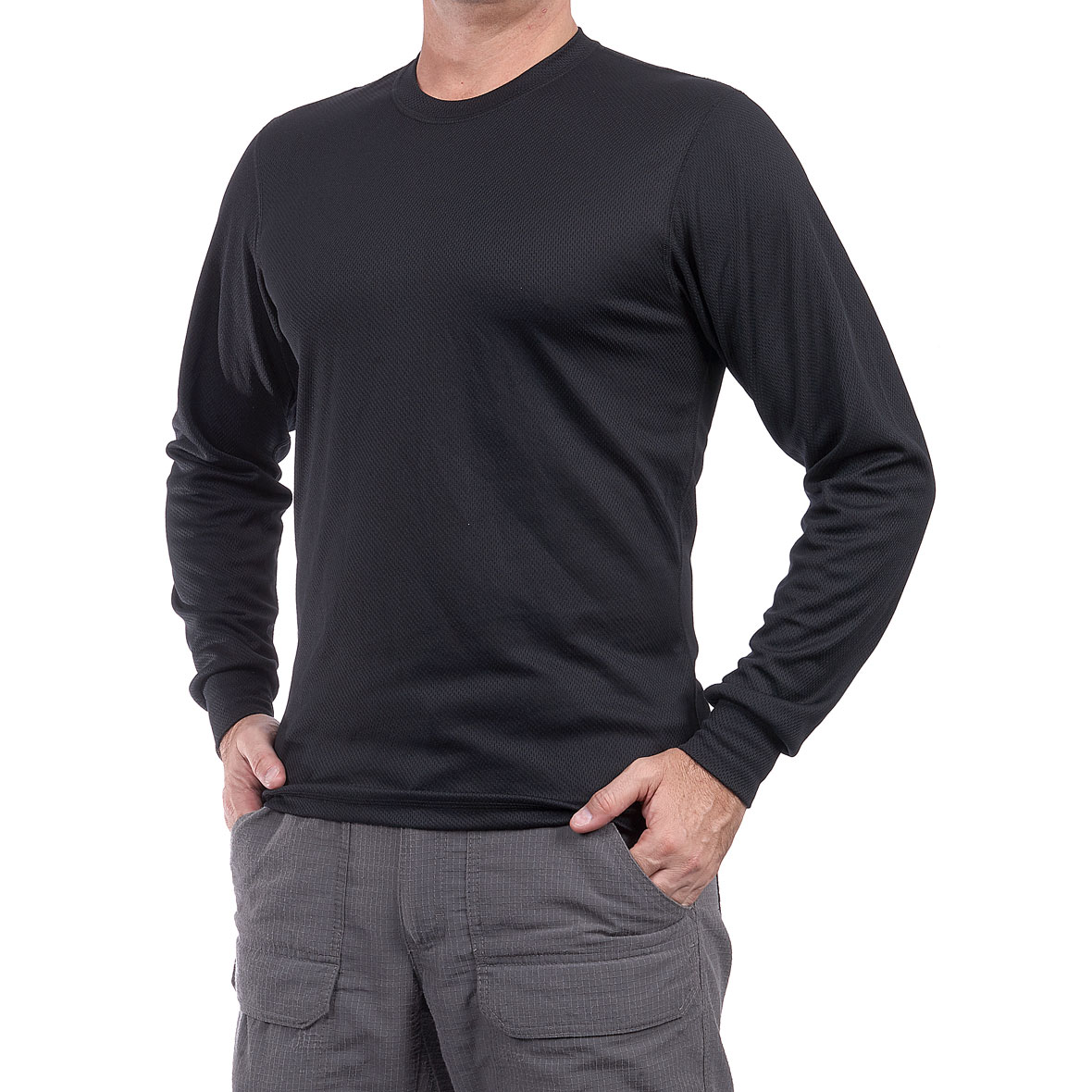 MG 8630 5CS20041010M Camiseta Thermal Negro - Camiseta Thermal