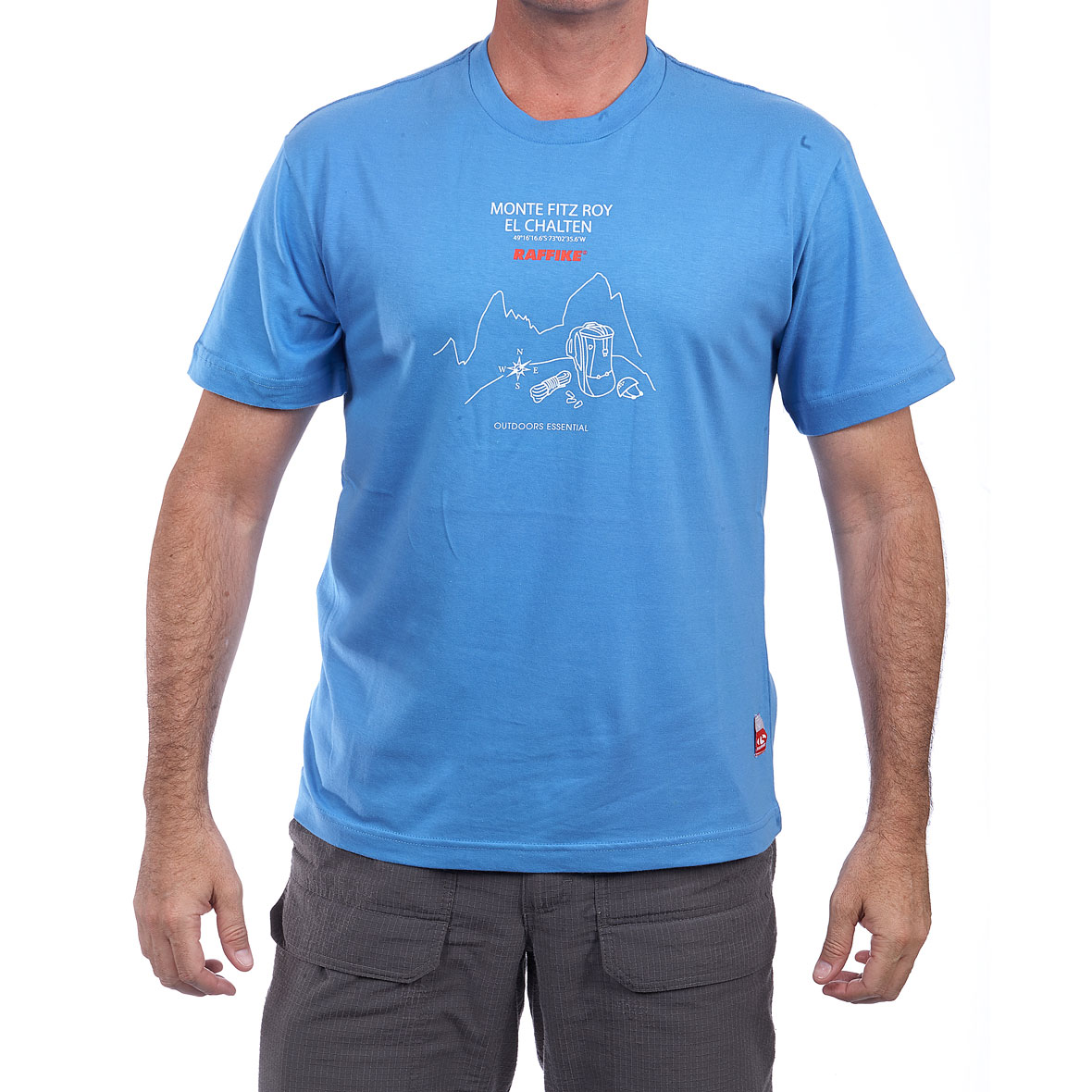 MG 8758 5RE20151710M Adventure T Shirt Fitz Roy Azulino - Adventure T-Shirts