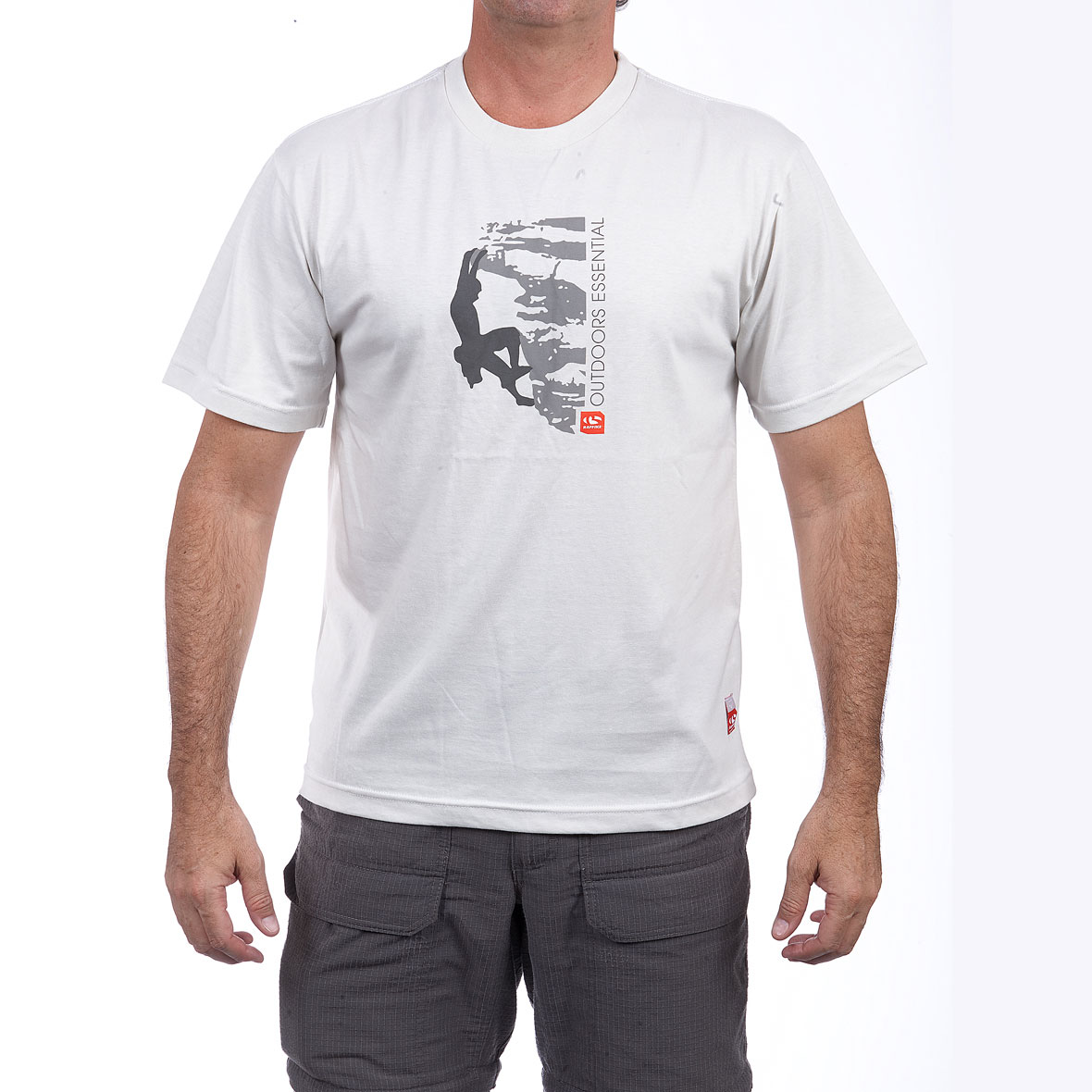 MG 8760 5RE20151140M Adventure T Shirt Escalada Blanco  - Adventure T-Shirts